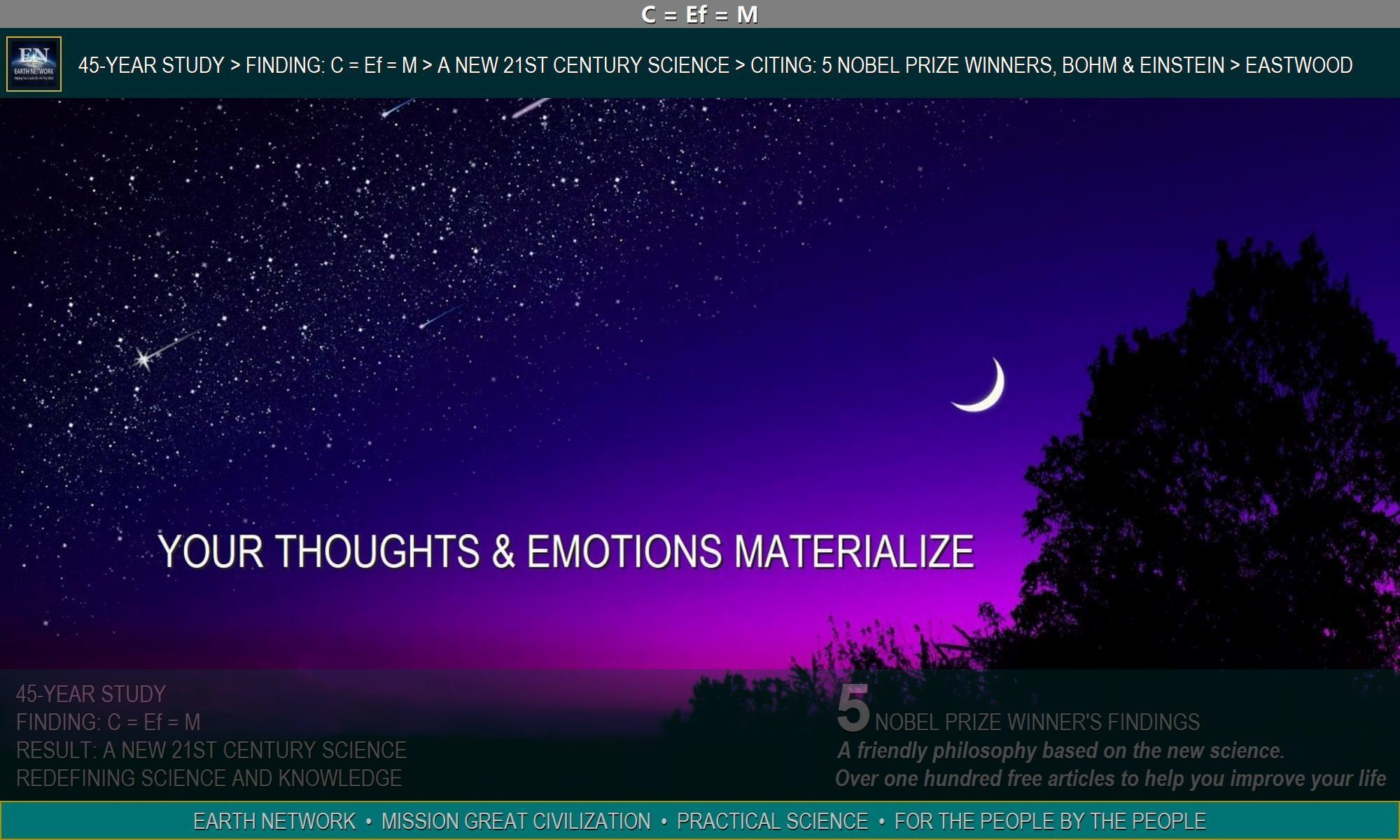 Nigh sky depicts the mystery of metaphysics and how your thoughts and emotions manifest as your life.