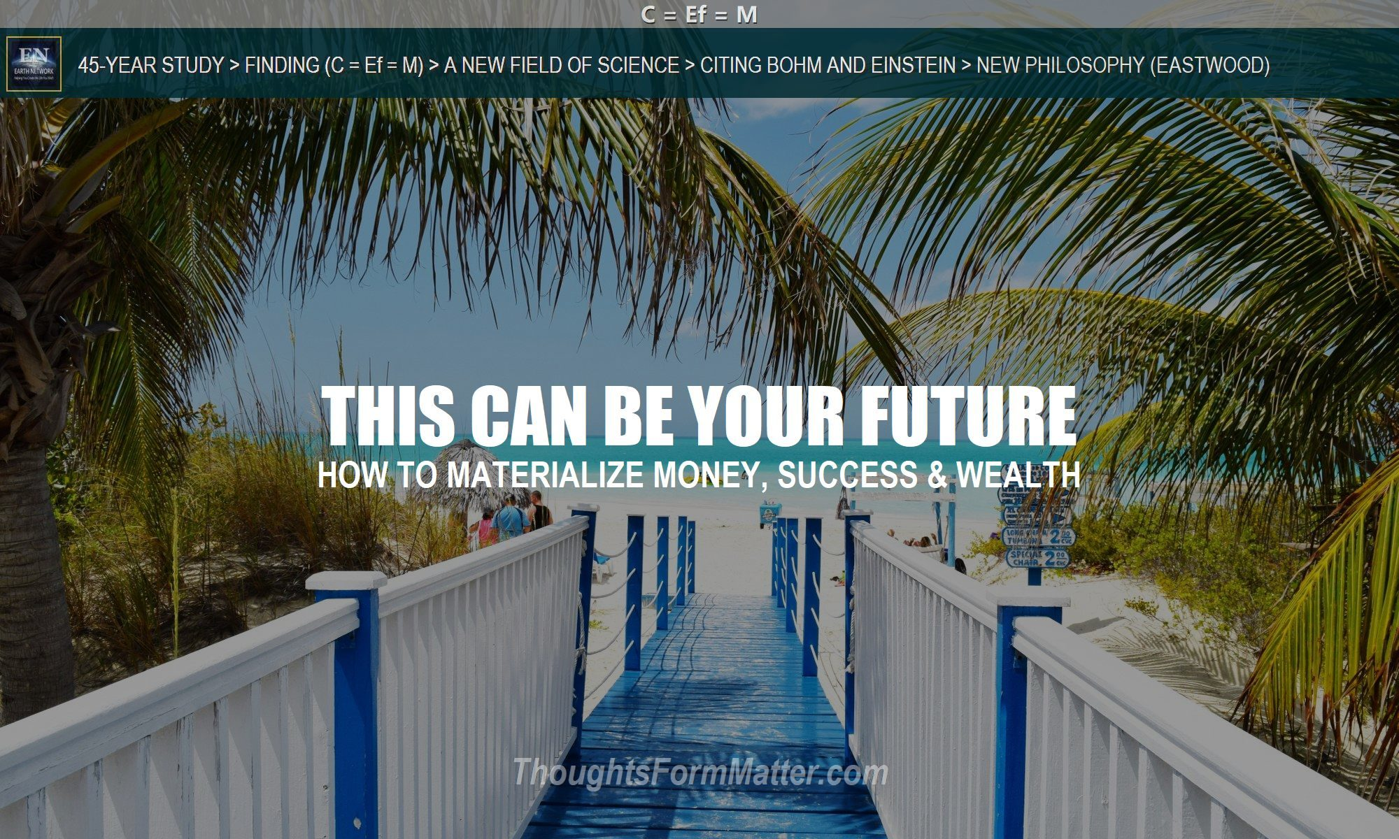 Beach inspires question how-to-materialize-money-success-how-do-i-manifest-wealth-thoughts-attract-create-prosperity-law-of-attraction