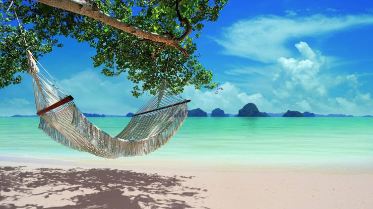 Hammock in paradise depicts your opportunity to change probabilities your reality