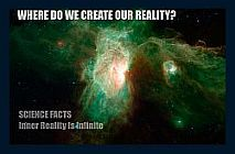 Where do we create our reality?