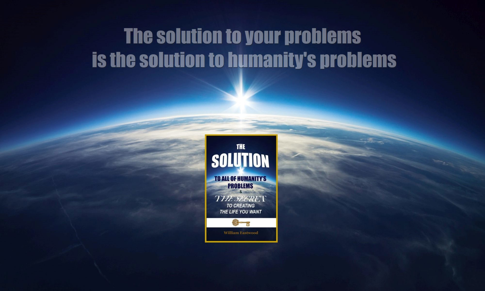 The Solution over sunrise