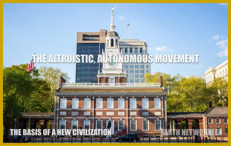 Independence Hall is symbolic of goodwill organization