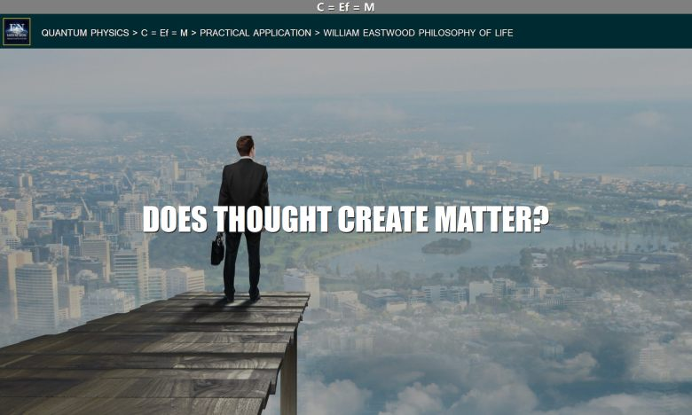 Man wondering if Mind, Consciousness & Reality: Does Thought Create Matter?