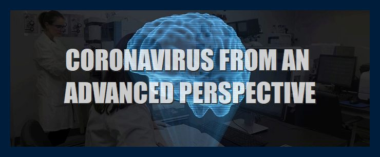 Coronavirus-from-through-advanced-science-paradigm-perspective-lens-metaphysics-illustration-with-brain-hologram