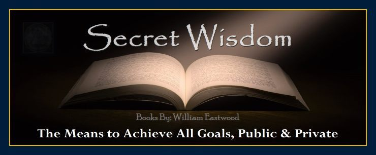 Open book depicts question - Can my thoughts form matter and create reality? Secret Wisdom books