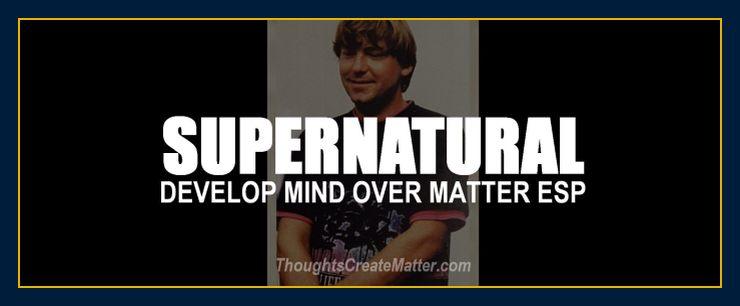 William Eastwood's many ESP supernatural experiences.